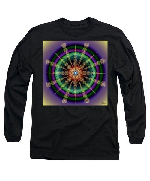 Sacred Geometry 652 Long Sleeve T-Shirt