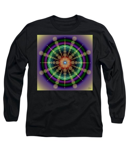 Sacred Geometry 652 Long Sleeve T-Shirt