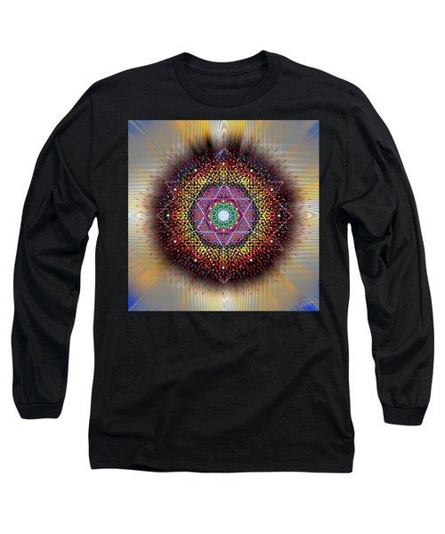 Sacred Geometry 657 Long Sleeve T-Shirt