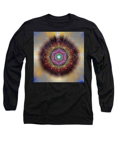 Sacred Geometry 657 Long Sleeve T-Shirt