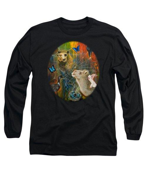 Sacred Journey Long Sleeve T-Shirt by Deborha Kerr