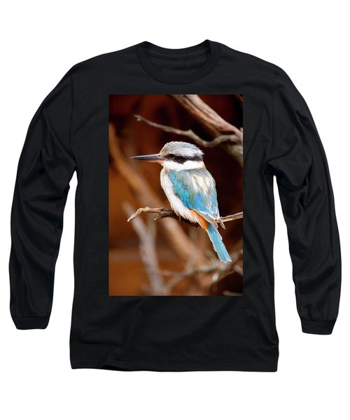 Sacred Kingfisher Long Sleeve T-Shirt