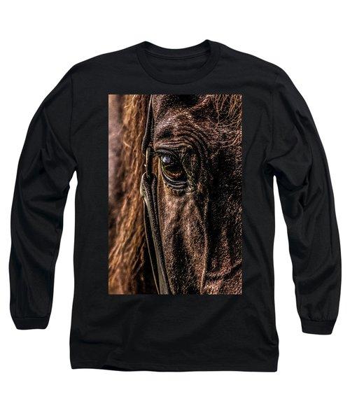Sad Eyes Long Sleeve T-Shirt