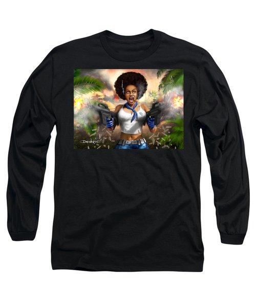 Safari Blue Long Sleeve T-Shirt