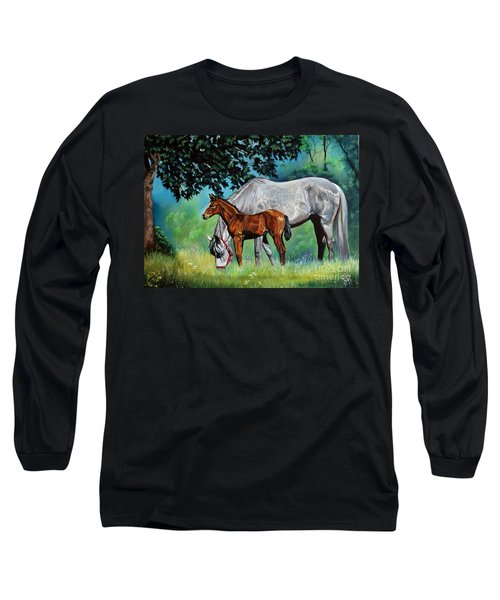 Safe Curiosity Long Sleeve T-Shirt