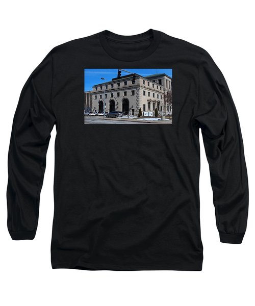 Safety Building Long Sleeve T-Shirt by Michiale Schneider