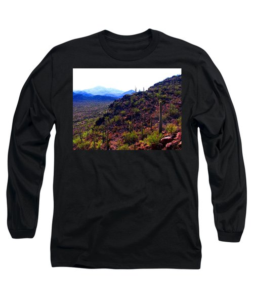 Saguaro National Park Winter 2010 Long Sleeve T-Shirt
