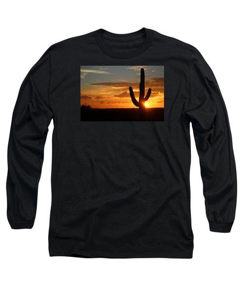 Saguaro Sunset Long Sleeve T-Shirt