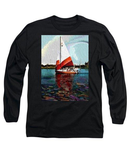 Sail Along On The Sea Long Sleeve T-Shirt