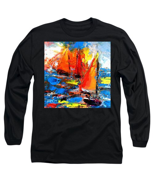 Sail Into The Sunset Long Sleeve T-Shirt