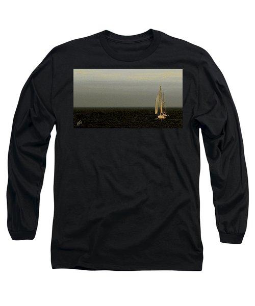 Sailing Long Sleeve T-Shirt by Ben and Raisa Gertsberg