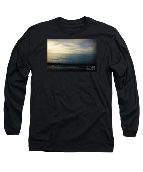 Sailing Cedar Long Sleeve T-Shirt by Paul Cammarata