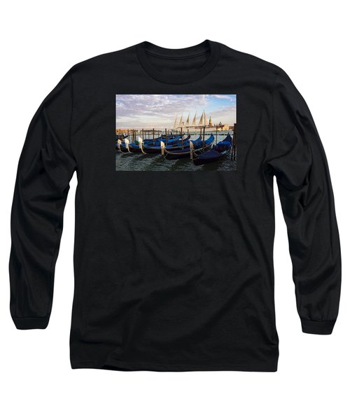 Sailing From Venice Long Sleeve T-Shirt