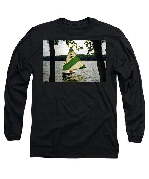 Sailing On Lake Dunmore No. 1 Long Sleeve T-Shirt