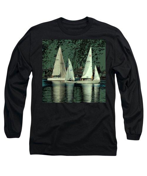 Sailing Reflections Long Sleeve T-Shirt