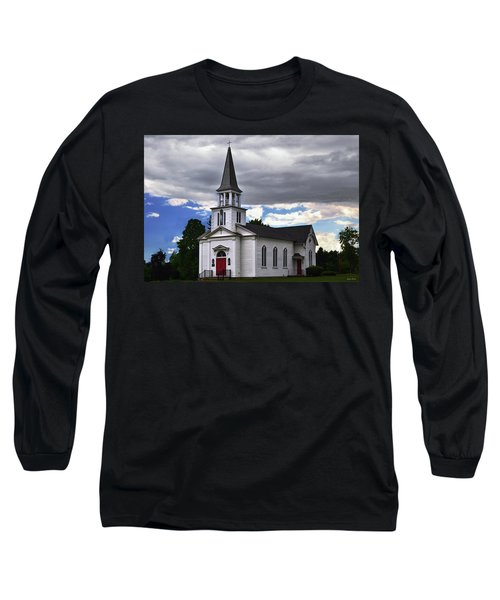 Long Sleeve T-Shirt featuring the photograph Saint James Episcopal Church 001 by George Bostian