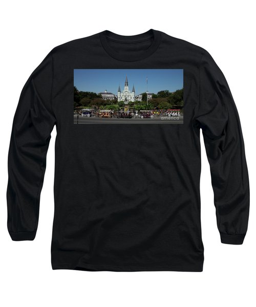 Saint Lewis Cathedral French Quarter New Orleans, La Long Sleeve T-Shirt