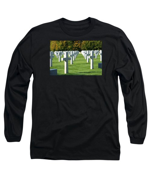 Long Sleeve T-Shirt featuring the photograph Saint Mihiel American Cemetery by Travel Pics