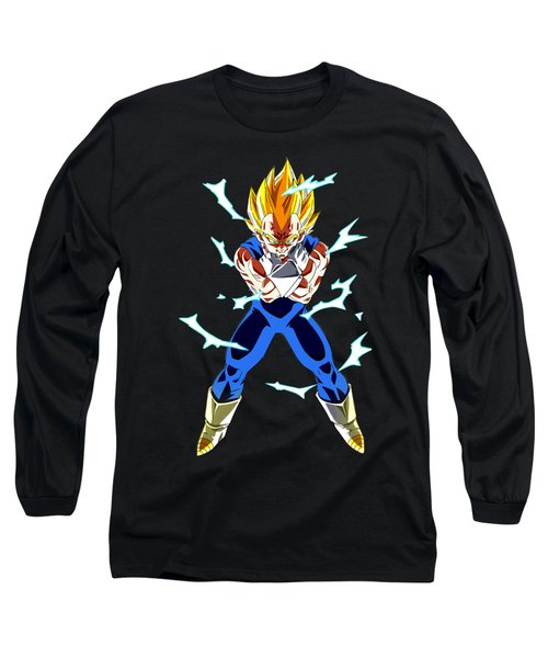 Saiyan Warriors Long Sleeve T-Shirt by Opoble Opoble