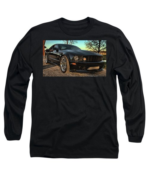 Long Sleeve T-Shirt featuring the photograph Saleen by John Crothers