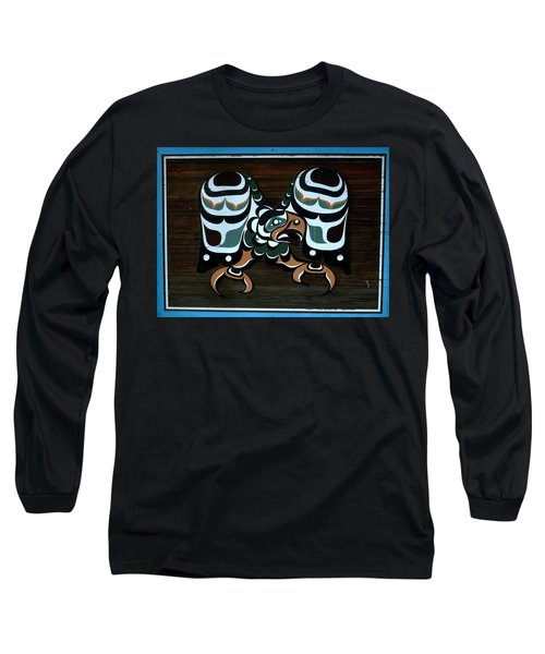 Long Sleeve T-Shirt featuring the photograph Salish Painting by 'REA' Gallery