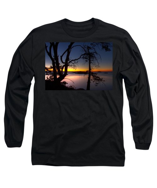 Salish Sunrise Long Sleeve T-Shirt by Randy Hall