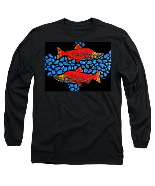 Salmon Long Sleeve T-Shirt