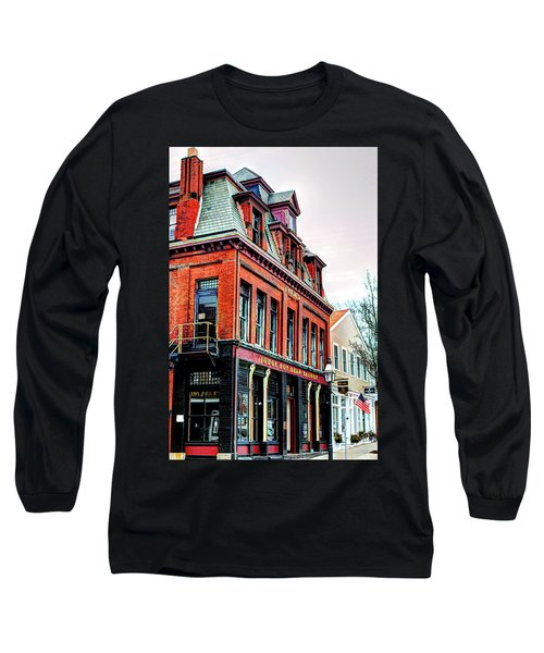 Long Sleeve T-Shirt featuring the photograph Saloon Bristol Ri by Tom Prendergast