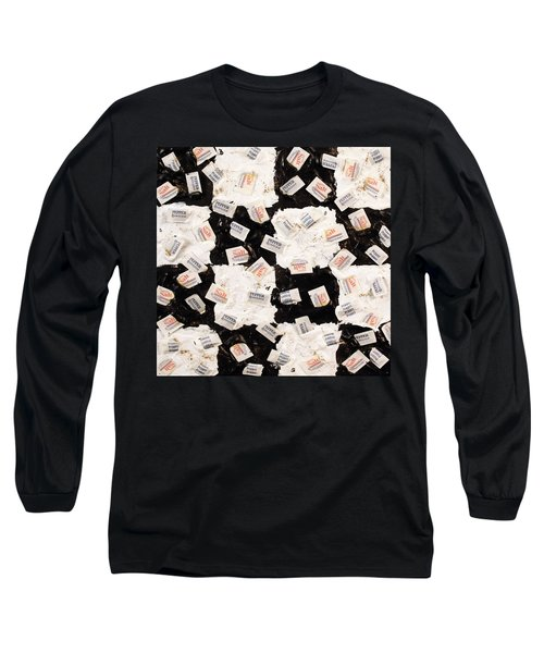 Salt And Pepper Long Sleeve T-Shirt by Thomas Blood