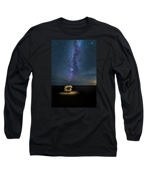 Salt Flats Milky Way Chair Long Sleeve T-Shirt