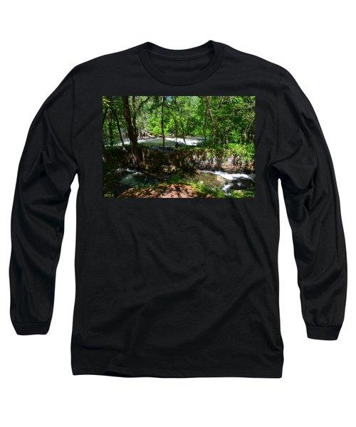 Saluda River Columbia Sc Long Sleeve T-Shirt