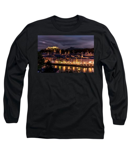 Long Sleeve T-Shirt featuring the photograph Salzburg Austria by David Morefield