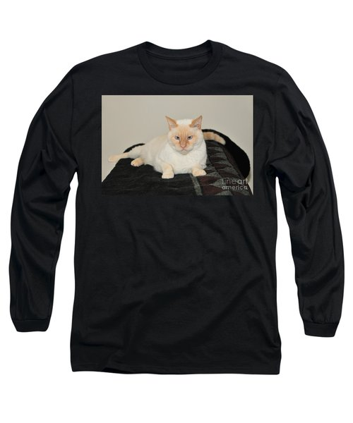 Long Sleeve T-Shirt featuring the photograph Sam I Am by Debbie Stahre