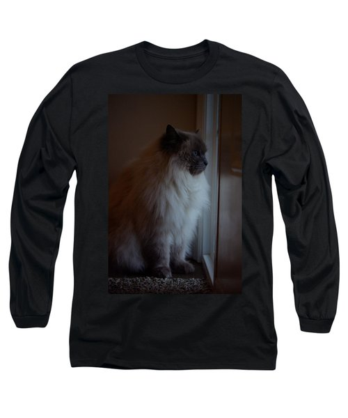 Sam Waits Long Sleeve T-Shirt