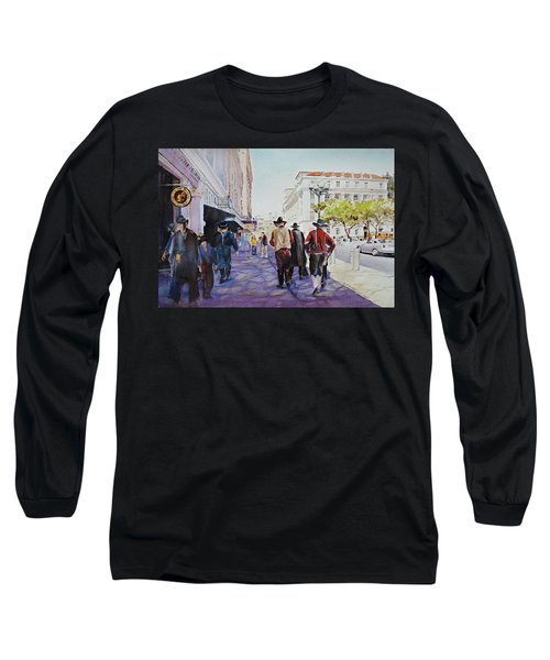 San Antonio Cowboys Long Sleeve T-Shirt