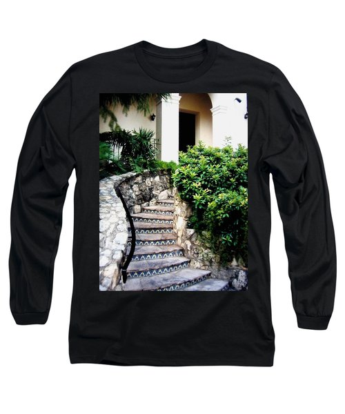 San Antonio Stairway Long Sleeve T-Shirt