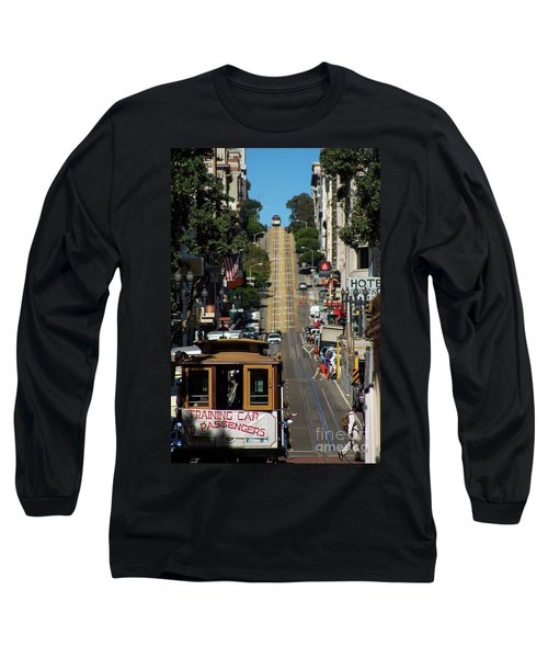 San Francisco Cable Cars Long Sleeve T-Shirt