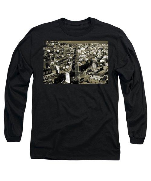 Old San Francisco - Vintage Photo Art Print Long Sleeve T-Shirt