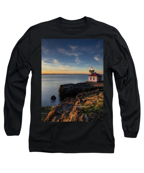 Long Sleeve T-Shirt featuring the photograph San Juan Island Serenity by Dan Mihai