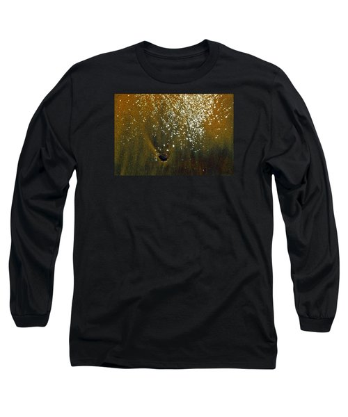 Sand And Sun And Water 2  Long Sleeve T-Shirt by Lyle Crump