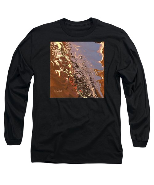 Sand Bank Long Sleeve T-Shirt by Alika Kumar