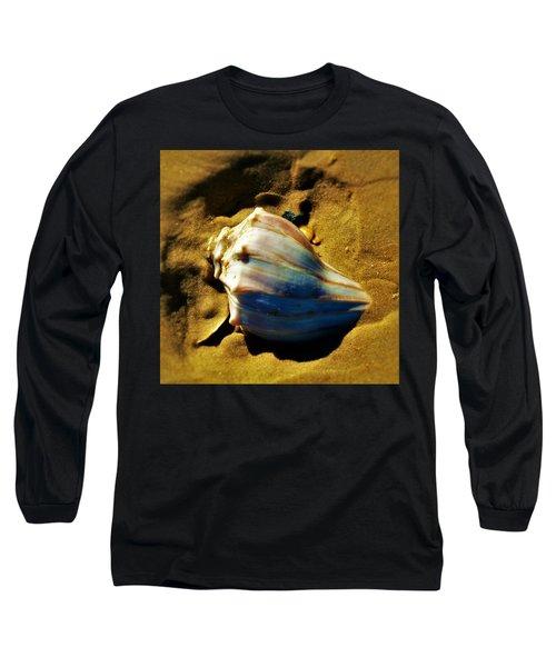 Sand Shell Long Sleeve T-Shirt by William Bartholomew
