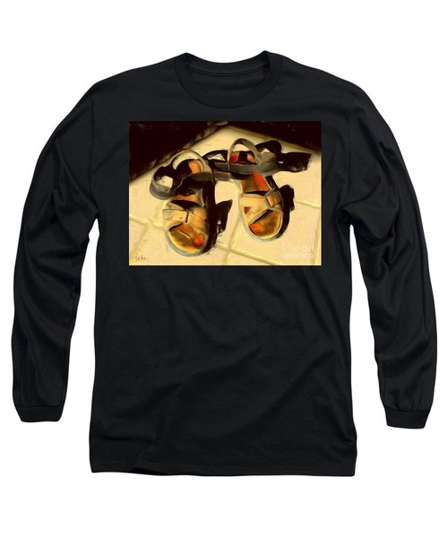 Sandals In Cabo Sun Long Sleeve T-Shirt by Gerhardt Isringhaus
