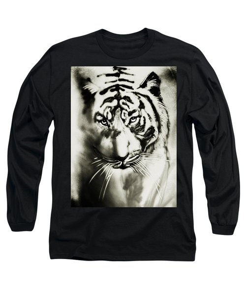 Sandy Tiger Long Sleeve T-Shirt