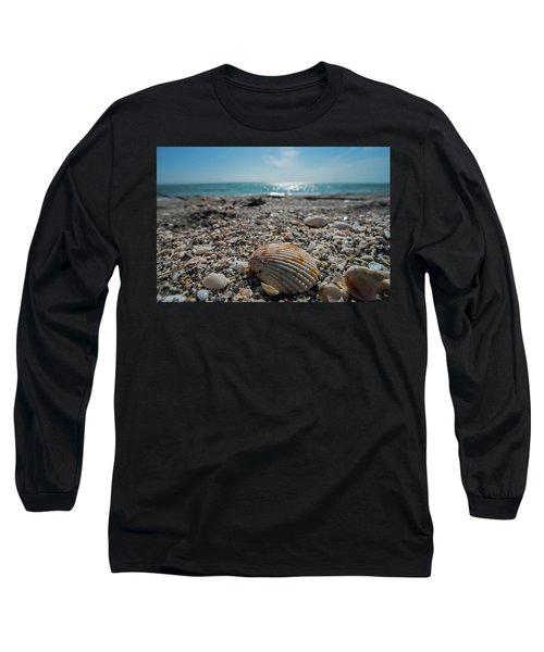 Sanibel Island Sea Shell Fort Myers Florida Long Sleeve T-Shirt