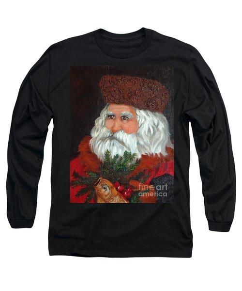 Santa Long Sleeve T-Shirt