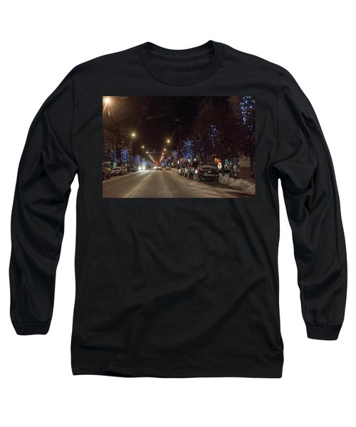 Long Sleeve T-Shirt featuring the photograph Santa Visits Bradford by Wade Aiken