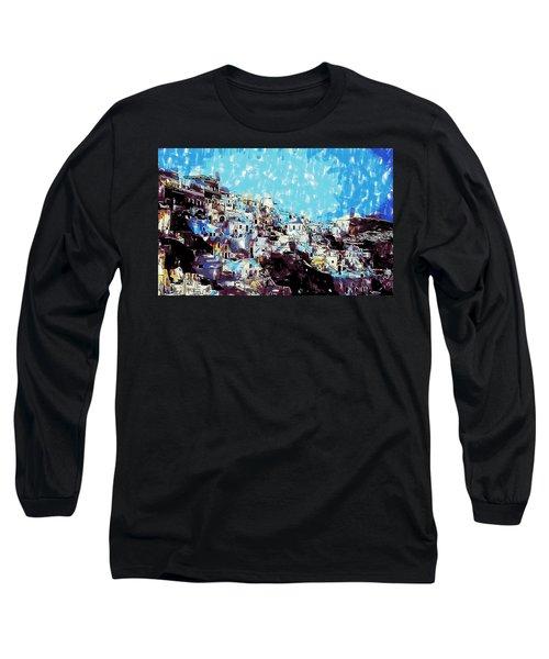 Santorini Island Long Sleeve T-Shirt