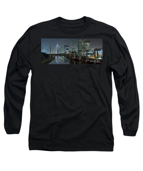 Sao Paulo Bridges - 3 Generations Together Long Sleeve T-Shirt