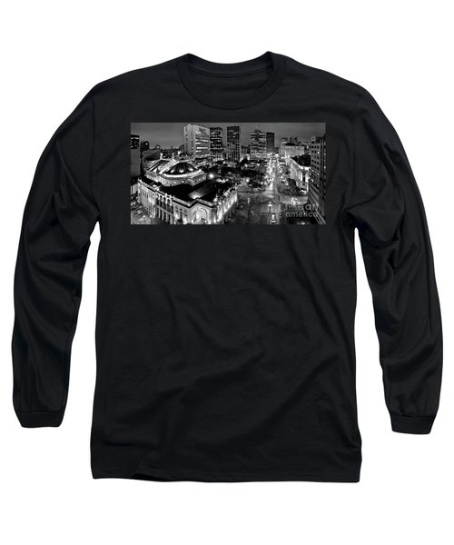 Sao Paulo Downtown - Viaduto Do Cha And Around Long Sleeve T-Shirt